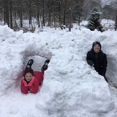 Vivi and Cousin Rex Finally done with Tunnels 2 and 3 at Grandma and Grandpas house. Grandma And Grandpa, Cousins, House, Home, Homes, Houses