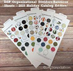 DSP Organization Holiday Catalog 2015 Stampin' Up!