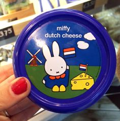 Miffy Dutch Cheese - this is the land of Jenifer Tracy