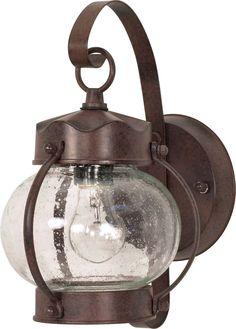 Light Wall Lantern - exterior deck