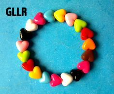 gelang warna-warni love