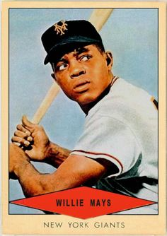 1954 Red Heart Willie Mays, New York Giants, Baseball Cards That Never Were