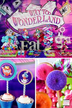 | Ever After High Party – Way Too Wonderland   GIVEAWAY! | http://soiree-eventdesign.com