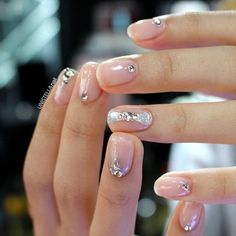minimalist nail art idea   negative space nail art