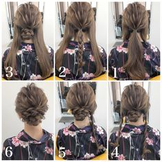 How to style long hair? What's the latest long hairstyle inspo in View to easily get the latest long hair tutorials trends Date Hairstyles, Homecoming Hairstyles, Box Braids Hairstyles, Winter Hairstyles, Elegant Hairstyles, Pretty Hairstyles, Waitress Hairstyles, Easy Updos For Long Hair, Short Hair Styles Easy