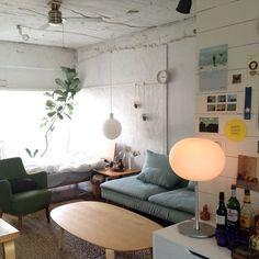 6畳のワンルームの場合もポイントは同じ!|「シンプルに見せる!一人暮らしの部屋のインテリア実例38選」の2枚目の画像