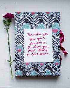 Viikon ajatus: valinnoista   The more you love your decisions, the less... - Pupulandia   Lily.fi