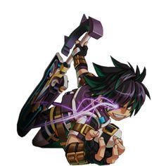 Grand Chase's Ercnard Sieghart, Dark Prime Knight