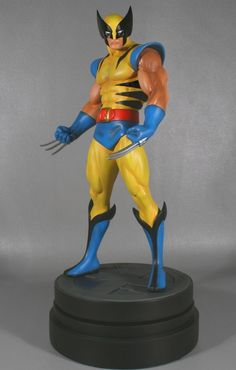Wolverine Classic Museum Statue Sculpted by: Randy Bowen  Release Date: January 2008 Edition Size: 1600 Order Of Release: Phase III (statue #102)