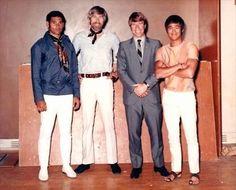 Mike Stone, James Coburn, Chuck Norris  Bruce Lee (1969)