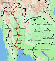 Nordthailand-Rundreise - Bangkok nach Chiang Mai