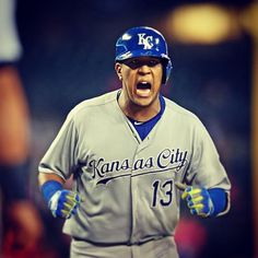 Never count out the #Royals.  #ForeverRoyal Salvy Perez KC Royals