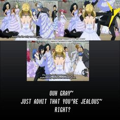 Does no one notice how Gajeel is just casually laying on the ground for 2 pics and then mysteriously disappears??