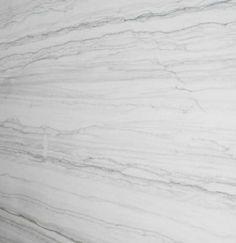 Quartzite Superwhite -- looks like marble, wears like granite.