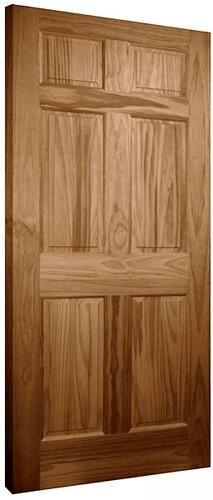 Mastercraft 30 X 80 X 1 3/8 Oak 6 Panel Interior Door