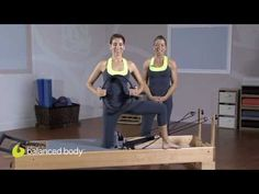 Reformer - Adductor & Hamstring Kneeling Series with Ring