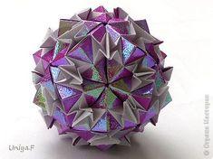 Кусудама Мастер-класс Оригами Harmonica Туториал Бумага фото 1