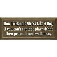 Handle Stress Plaque