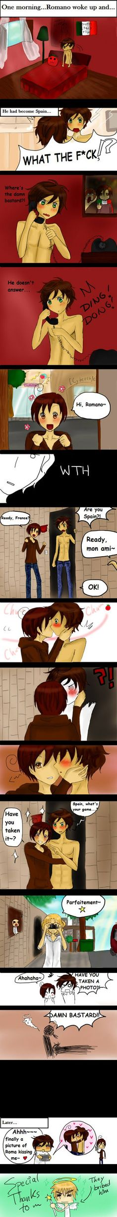 The lengths he had to go to XD APH - Change by ~SonneDark on deviantART