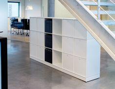Opbergkast voor op kantoor - ABC Quadrant - Designkasten - Kasten - Lundia