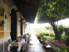 """O município de Nísia Floresta no Rio Grande do Norte era chamado de """"Vila de Papary"""" até 1948. Lá ingleses construíram uma estação de trem que ficou pronta em 1881, onde hoje funciona u…"""
