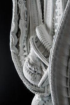 """Gallery - 3D Printed """"Arabesque Wall"""" Features 200 Million Individual Surfaces - 3"""