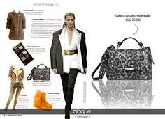 Revista Para Ti - Junio Cartera de cuero con tachas Ver en Shop Online: http://www.blaque.com.ar/es/26-27/2852/cuero/bandolera-de-cuero.aspx