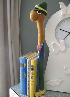 Christie Chase: #475...lowly worm. Link has instructions/pattern to make your own bookworm