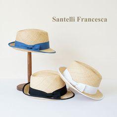 Santelli Francesca *サンテッリ フランチェスカ グログランリボンパイピングハット