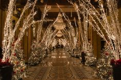 The Roosevelt New Orleans, A Waldorf Astoria Hotel Winter Wonderland