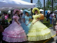 dresses from the southern belle era Assorted colors southern bell dress Maid Dress, Dress Me Up, Southern Belle Style, Southern Charm, Vintage Costumes, Vintage Outfits, Gothic Lolita Dress, Civil War Dress, Bustle Dress