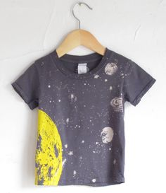 Moon and Stars T Shirt...either kiddo.