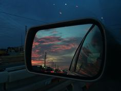 """"""" the sky tonight was nothing compared to her. """" and the sky is… The Sky Tonight, Paper Towns, Pretty Sky, Night Vale, Car Mirror, Trippy, Scenery, Adventure, World"""