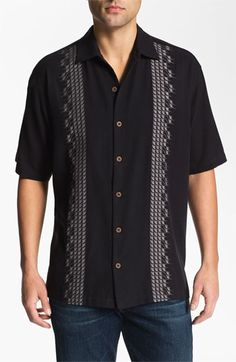 Tommy Bahama 'Sand Deco' Silk Campshirt | Nordstrom
