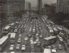 Anhangabau inicio anos 70
