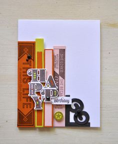 Bibliophile Stamp Set: Papertrey Ink Clear Stamps Dies Paper Ink Kits Ribbon