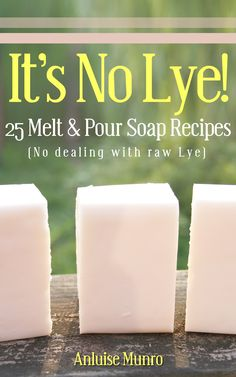 It's No Lye!: 25 Melt & Pour Soap Recipes:Amazon:Kindle Store
