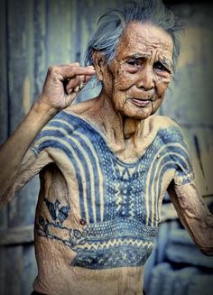.What will those tattoos look like when you're old? They will tell a story, they will let you know I stood for something or I was a rebel or I got drunk and had an extra $50 in my pocket. Or they look like this- bad ass
