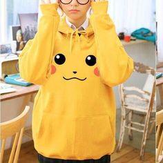 Yellow cartoon hoodie coat SE8943