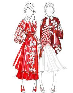 My Portfolio - Ready to Wear #fendi #resort17 #fashion #fashionillustration #illustration @fendiofficial