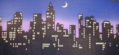 New York Skyline 6 Stage Backdrop