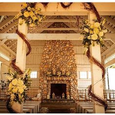 The beautiful boathouse chapel archway at Bonnet Island Estate, NJ wrapped in grapevines and adorned with bunches of flowers. So Pretty!! Florist: Magnolia Florals and Event Decor Photo Courtesy of @petalpushersmagnolia @ashfordestate #weddingsofdistinctionnj #weddingsofdistinction #bonnetislandestate #njwedding #luxurywedding #coastalwedding #waterfrontweddings #boathousechapel #weddingflowers #archway #grapevines #florist
