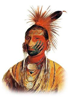 Image result for seminole indian warrior painted face