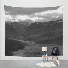 Wandbehang hängenden Mt Saint Helens - Wand Gobelin - Naturfoto - große Wand hängen - 3 Größen verfügbar - Hauptdekor - bestellen Sie gemacht
