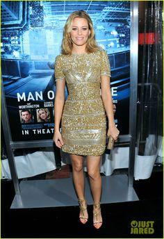 Elizabeth Banks: 'Man On A Ledge' Premiere!
