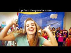 Here's the video sing-a-long for Christ Arose! ©2012 Group Publishing, Inc. No copyright intended.