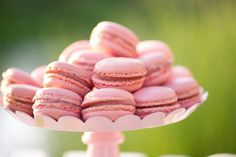 pink macarons   https://www.facebook.com/HelensRoyalTeaHouse  http://www.etsy.com/shop/HelensRoyalTeaHouse