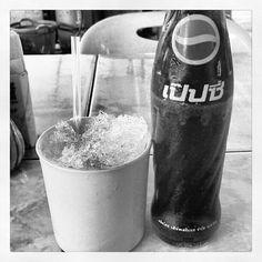 Last stock of Pepsi Cola by Sermsook Plc. in Thailand.