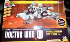 Doctor Who Character Building Cyberman Speeder Mini Vehcle Set /& 2 Cyberman Figures