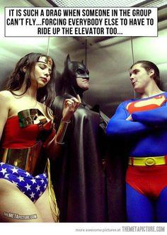 Batman, get it together…